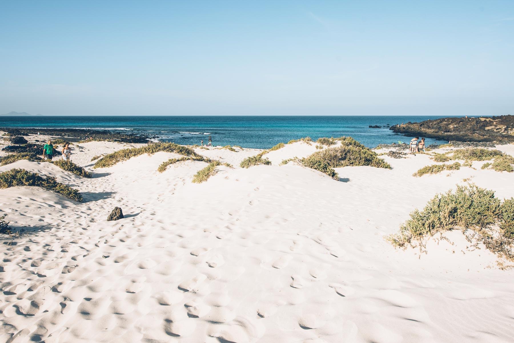 Plage de sable Blanc, Lanzarote