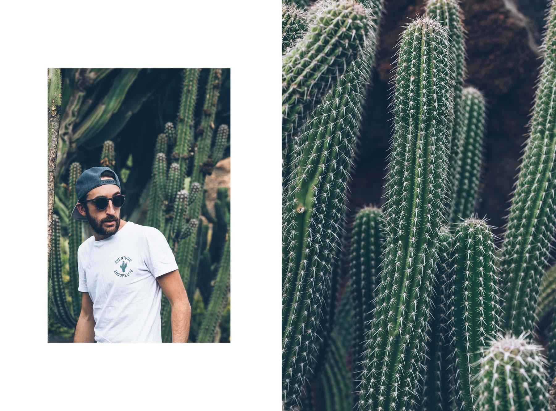 Faguo au Jardin de Cactus, Lanzarote