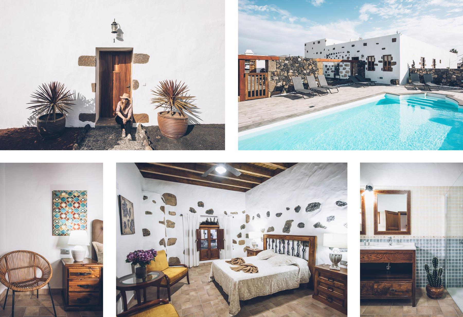 Ou dormir à Lanzarote? La Caserio Leandro à Macher