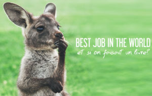 BEST JOB IN THE WORLD | ET SI ON FAISAIT UN LIVRE ?