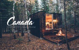 CANADA | CETTE NUIT DANS UNE CABANE ECO-DESIGN À REPÈRE BORÉAL, CHARLEVOIX