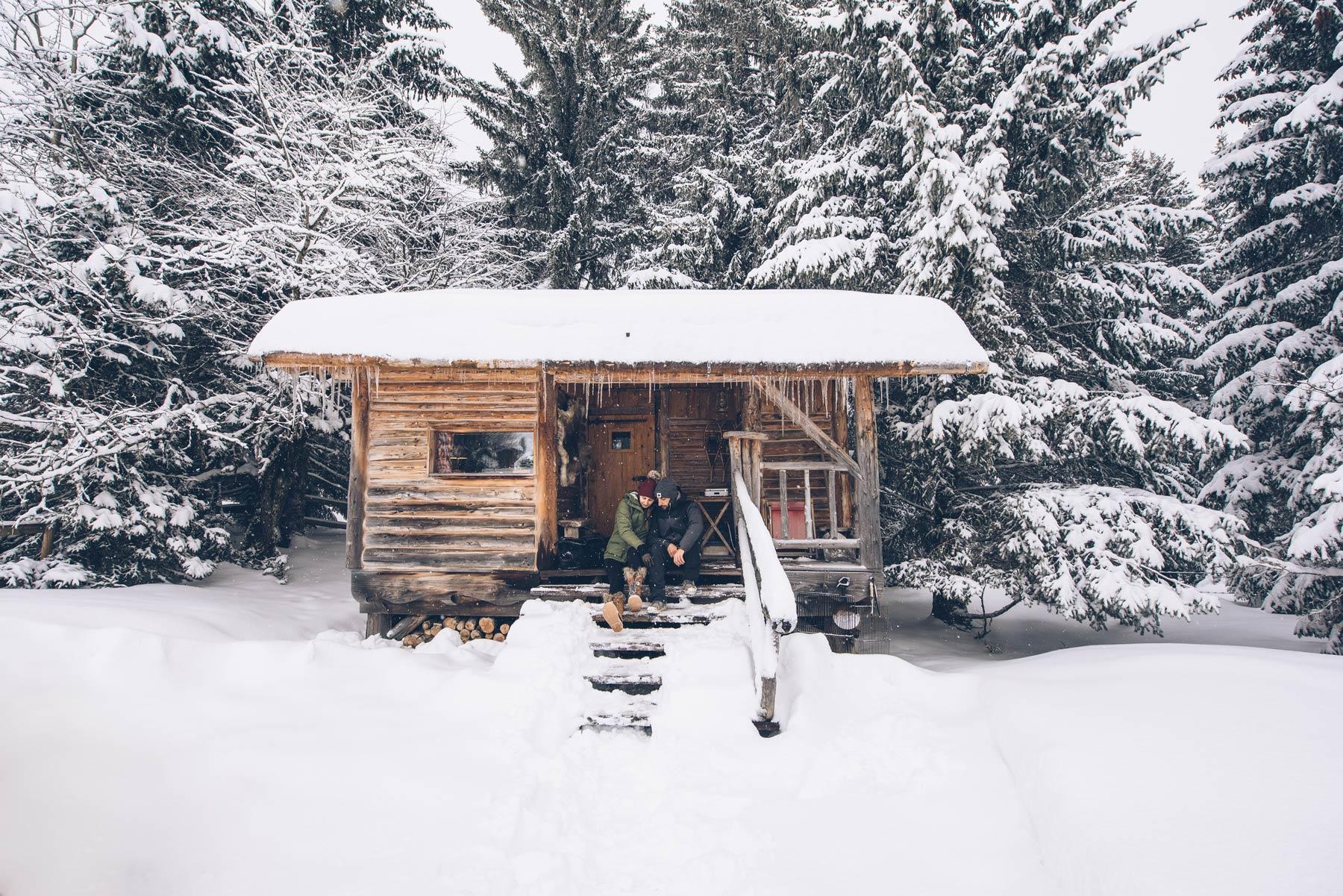 La cabane du Trappeur, La Pesse, Jura