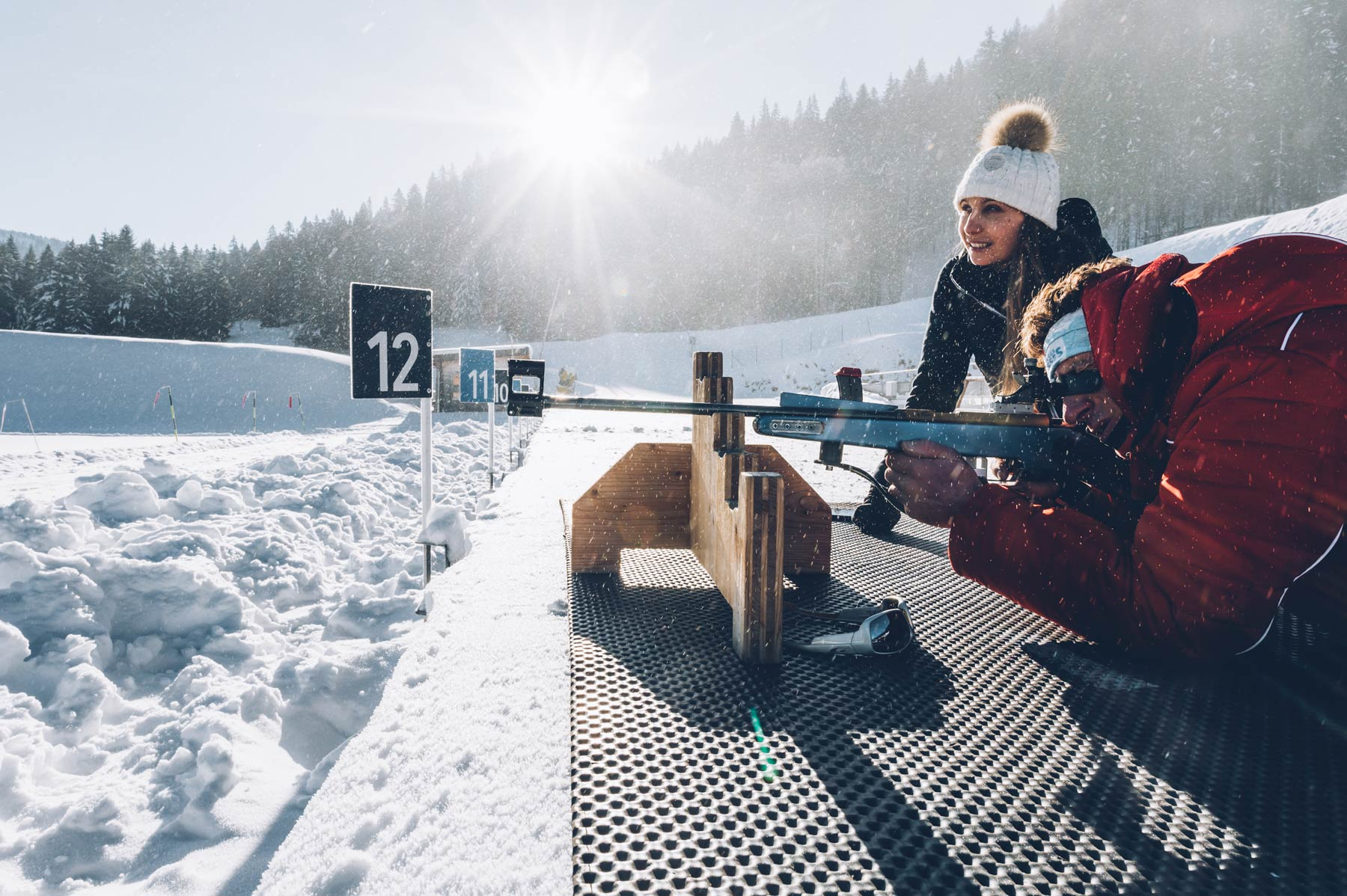 Initiation Biathlon dans le Jura