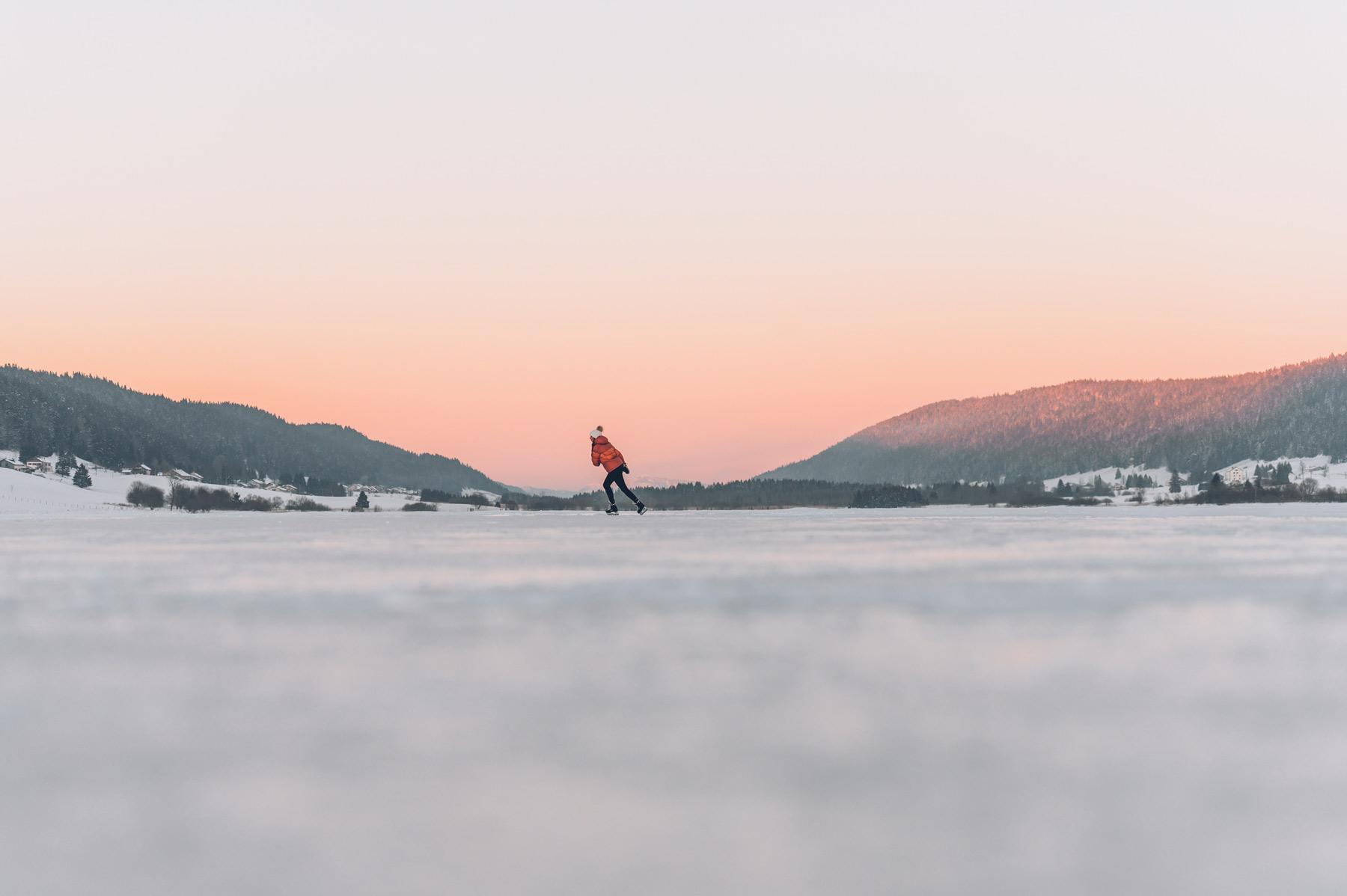 Patin à glace, Jura