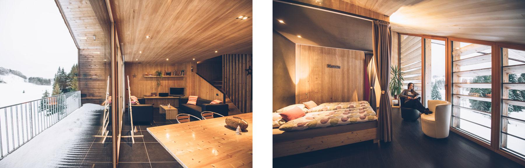 Chalet eco design Jura