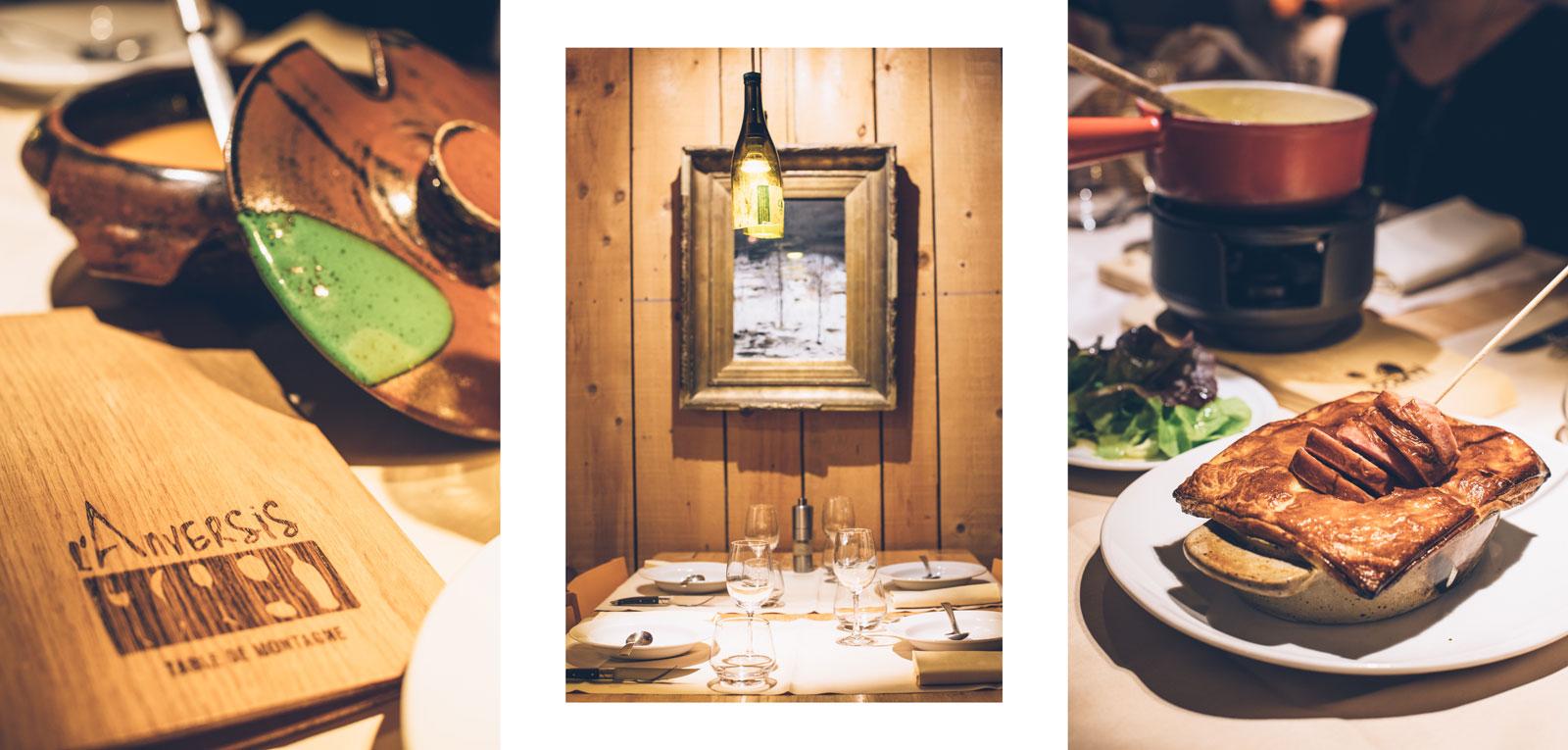 Meilleur restaurant du Jura: L'Anversis à Lamoura