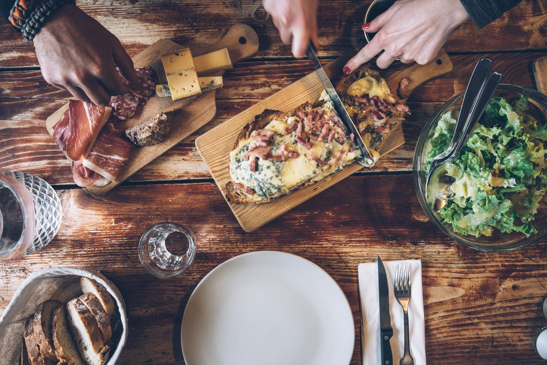Ou manger dans le Jura: Refuge du Berbois à la Pesse