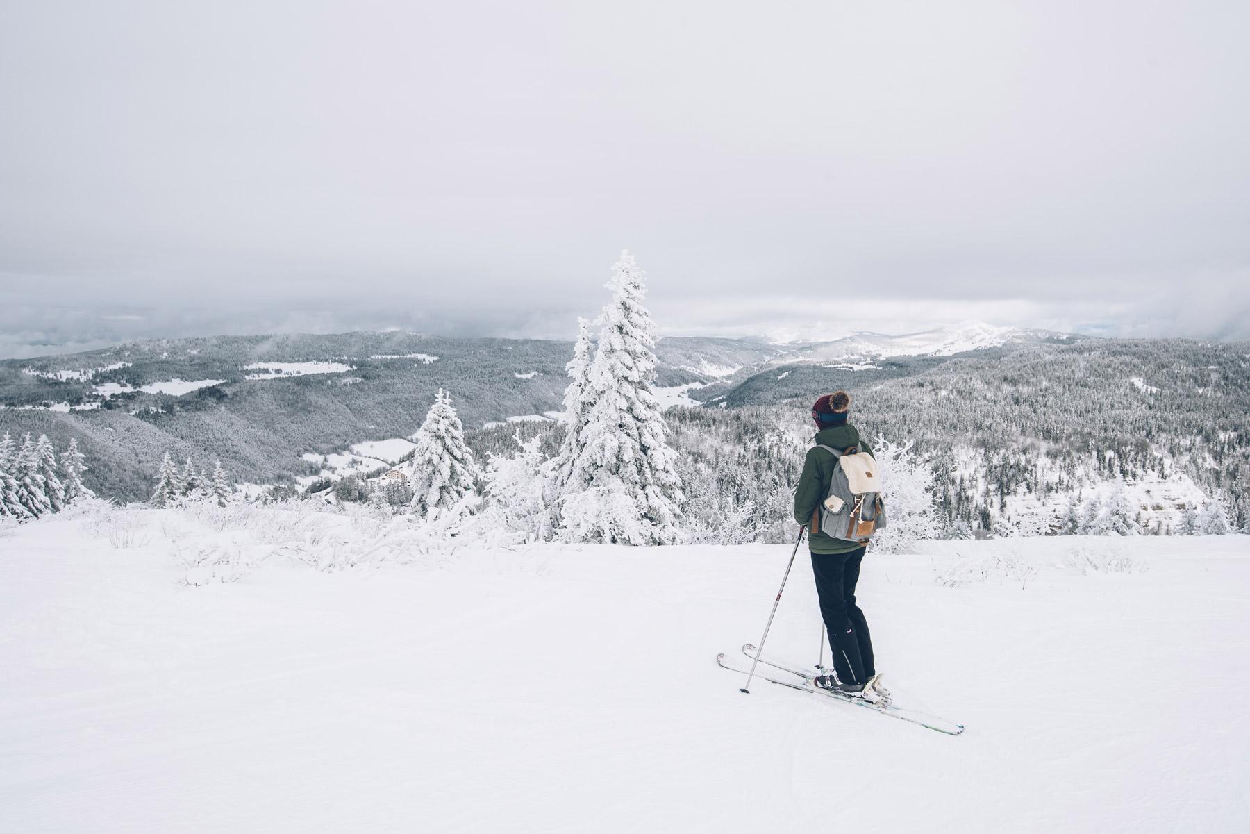 Skier dans les Montagnes du Jura: Station Mont Jura La Faucille