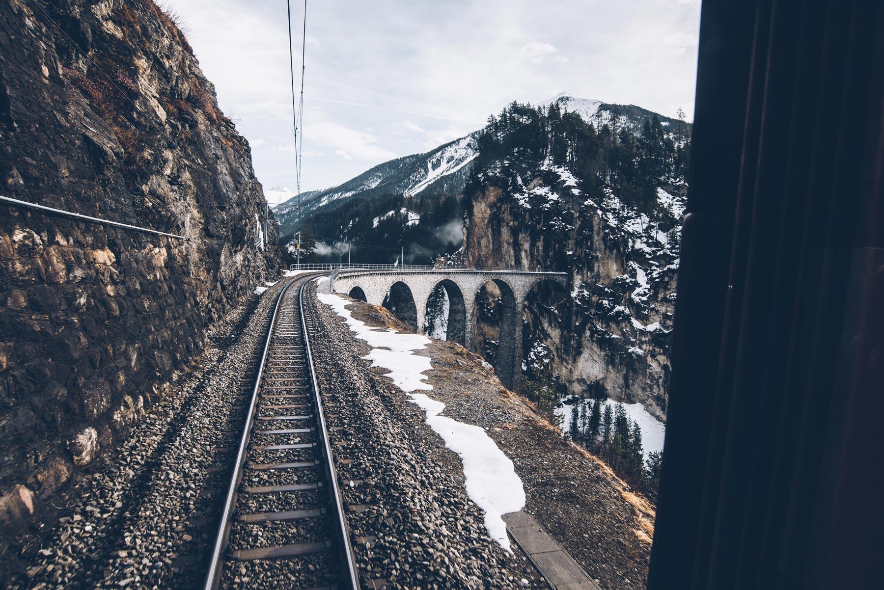 Viaduc de Landwasser, Suisse