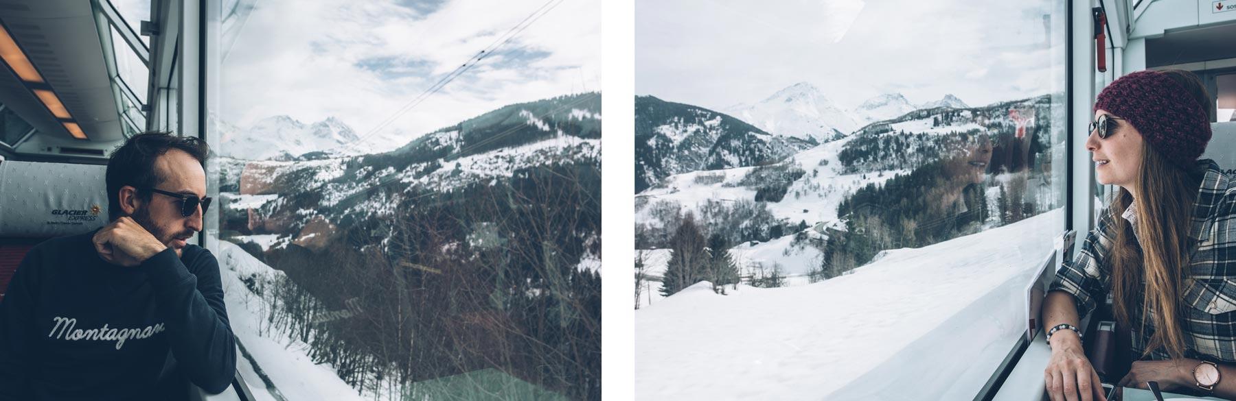 Glacier Express, Suisse