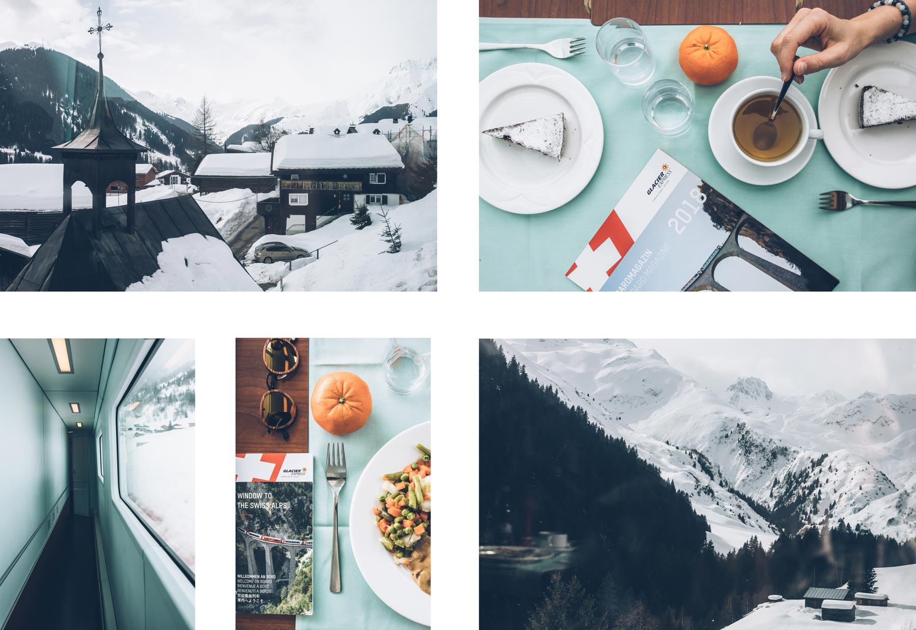 Menu du Jour, Glacier Express