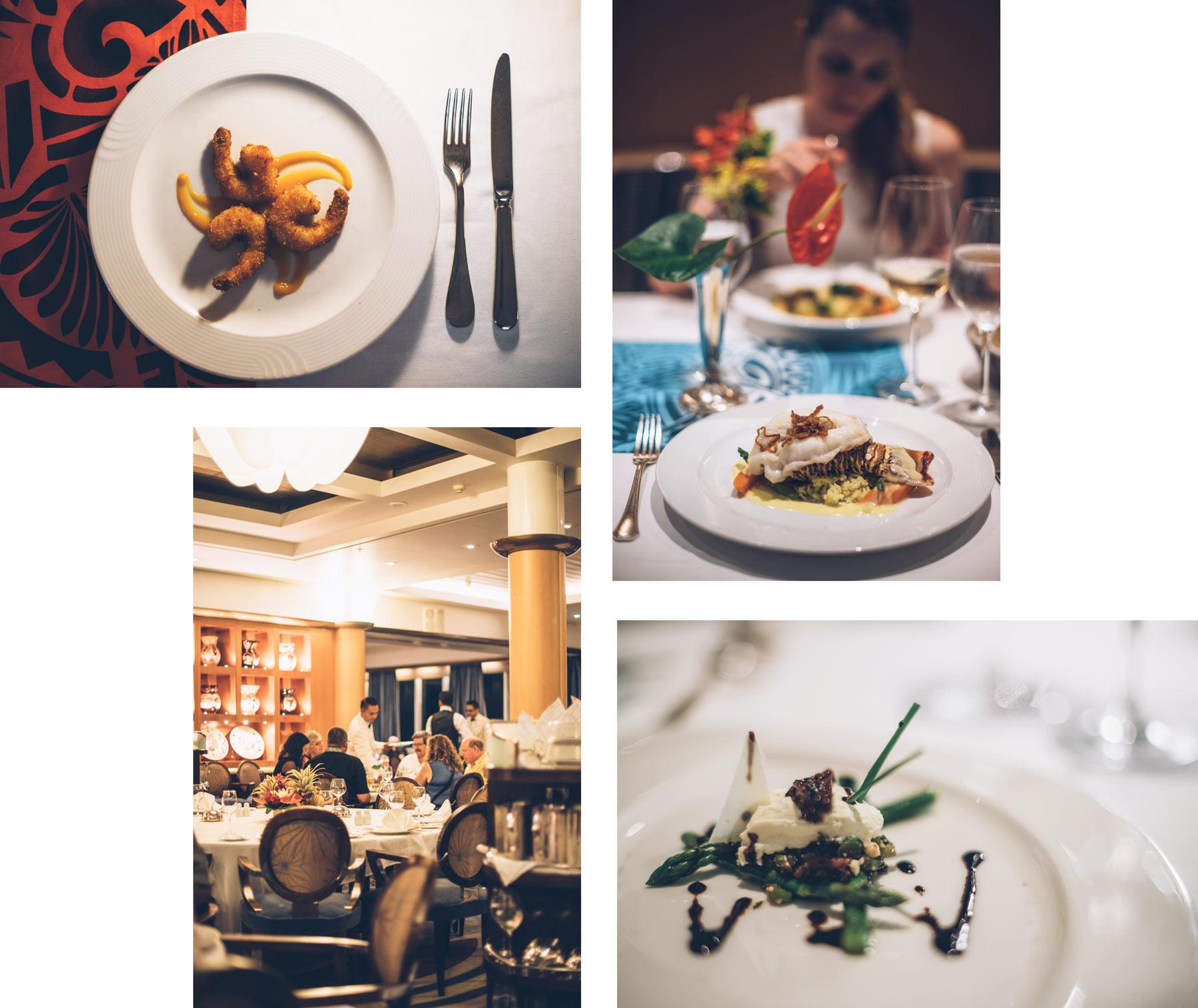 Croisière Paul Gauguin, restaurant