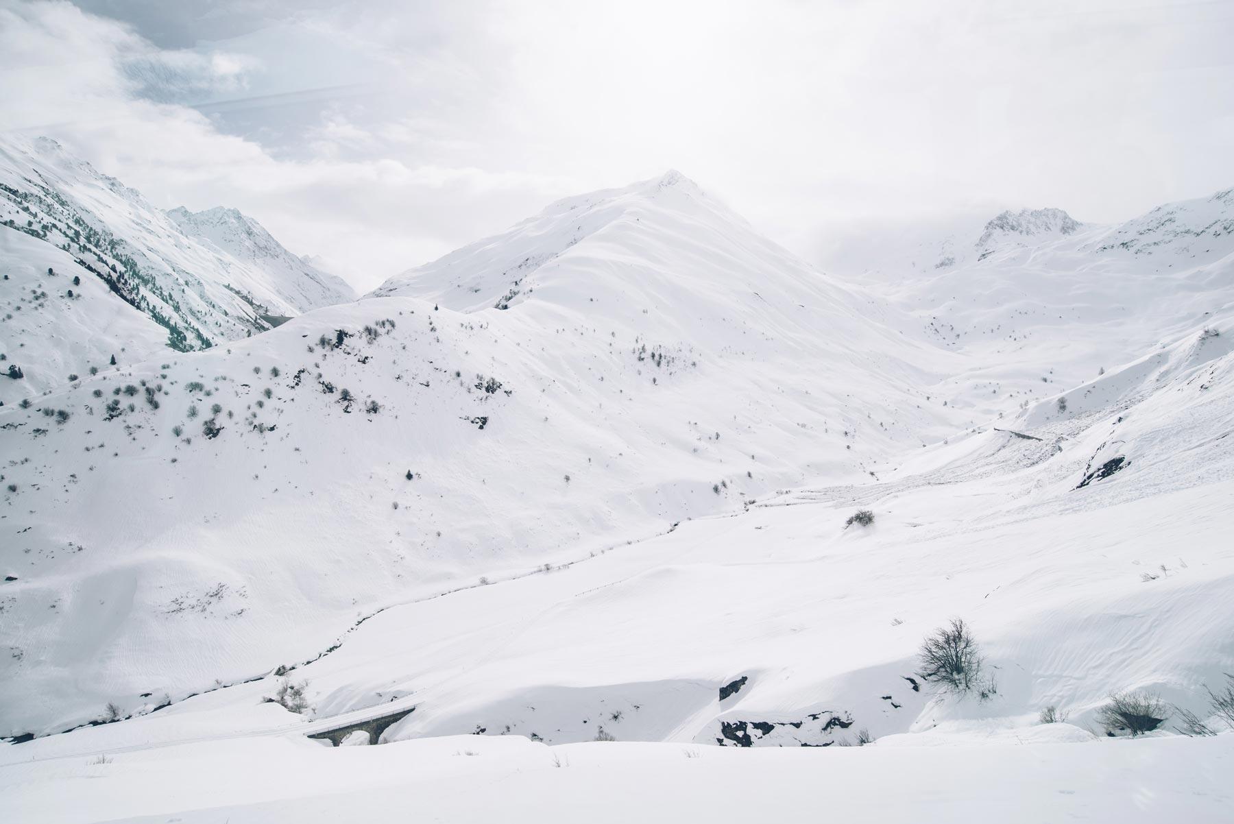 Col de l'Oberalp, Suisse