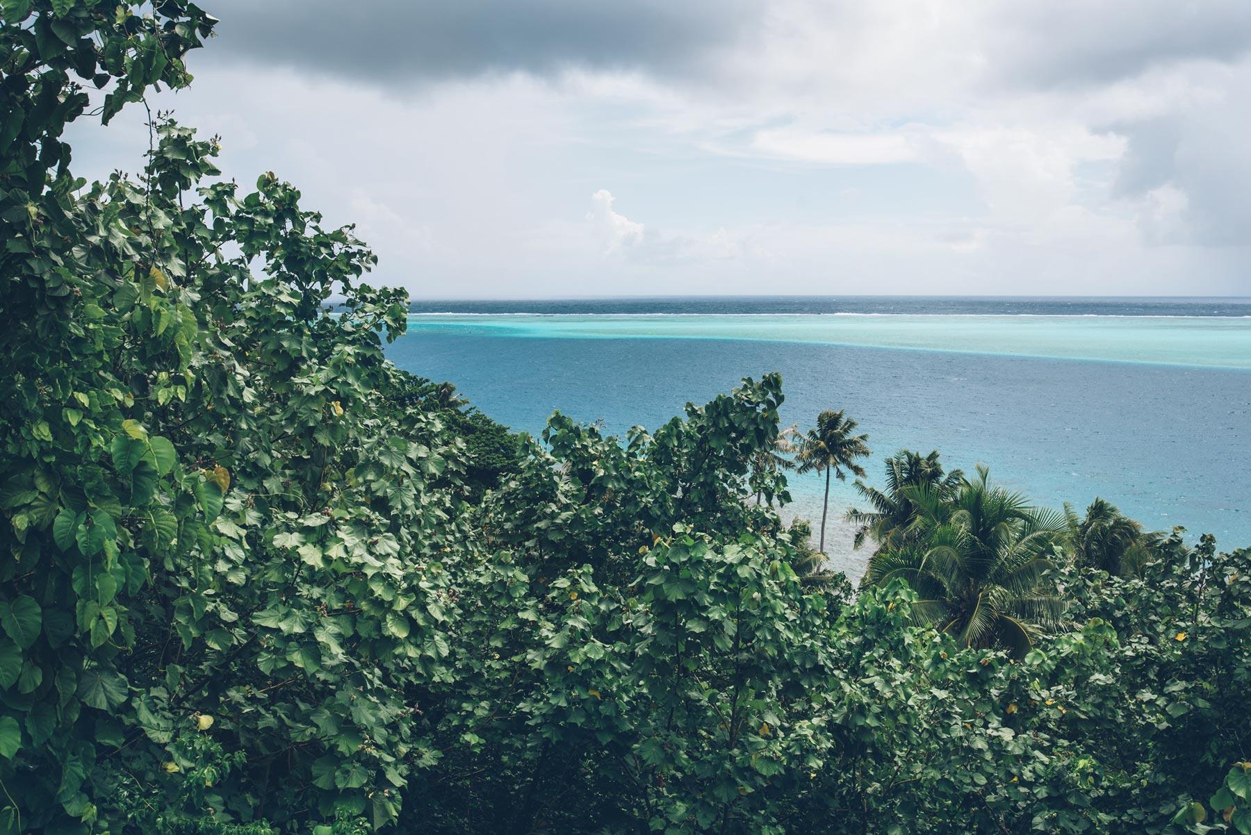 Lagon Huahine
