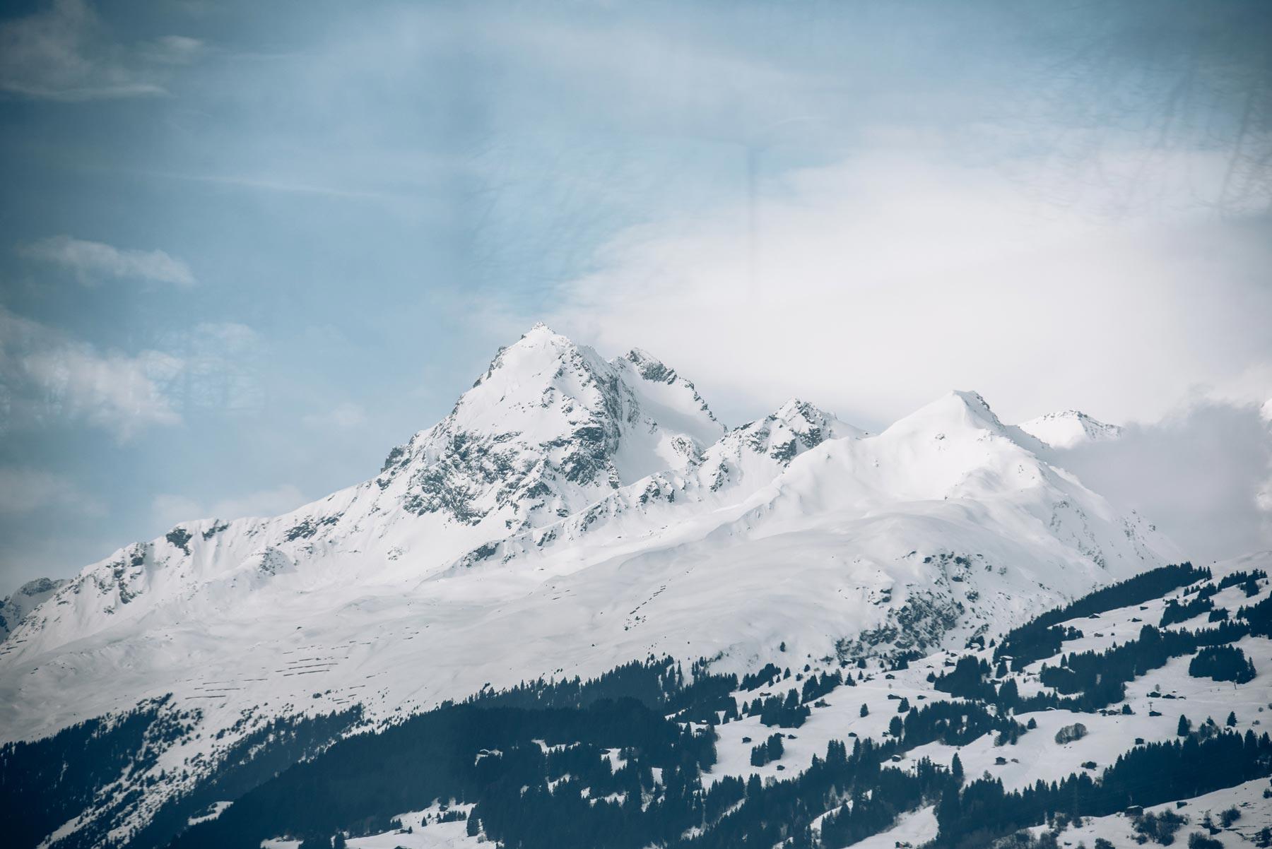 Vue depuis le Glacier Express