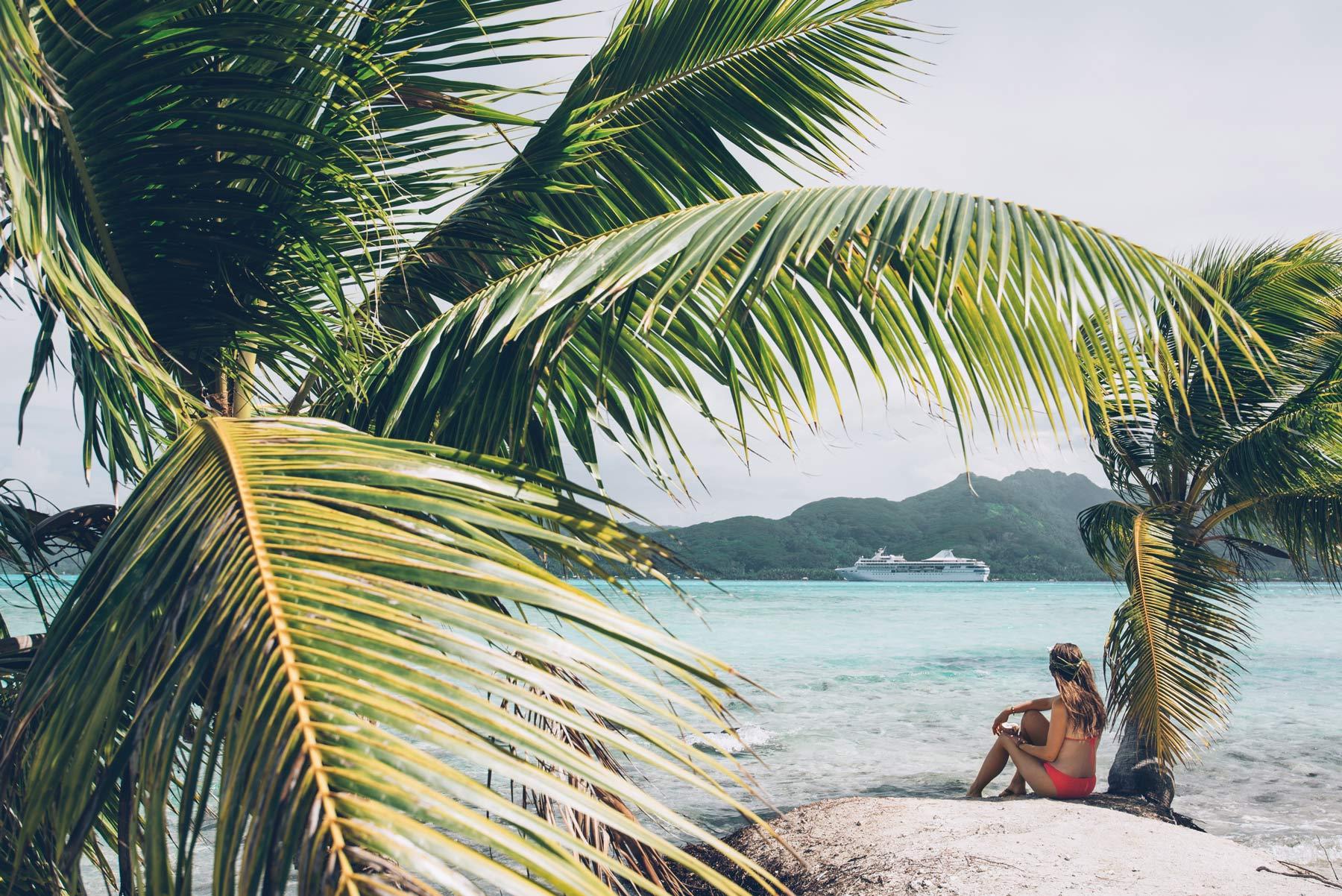 Motu Mahana, Tahaa, Polynésie