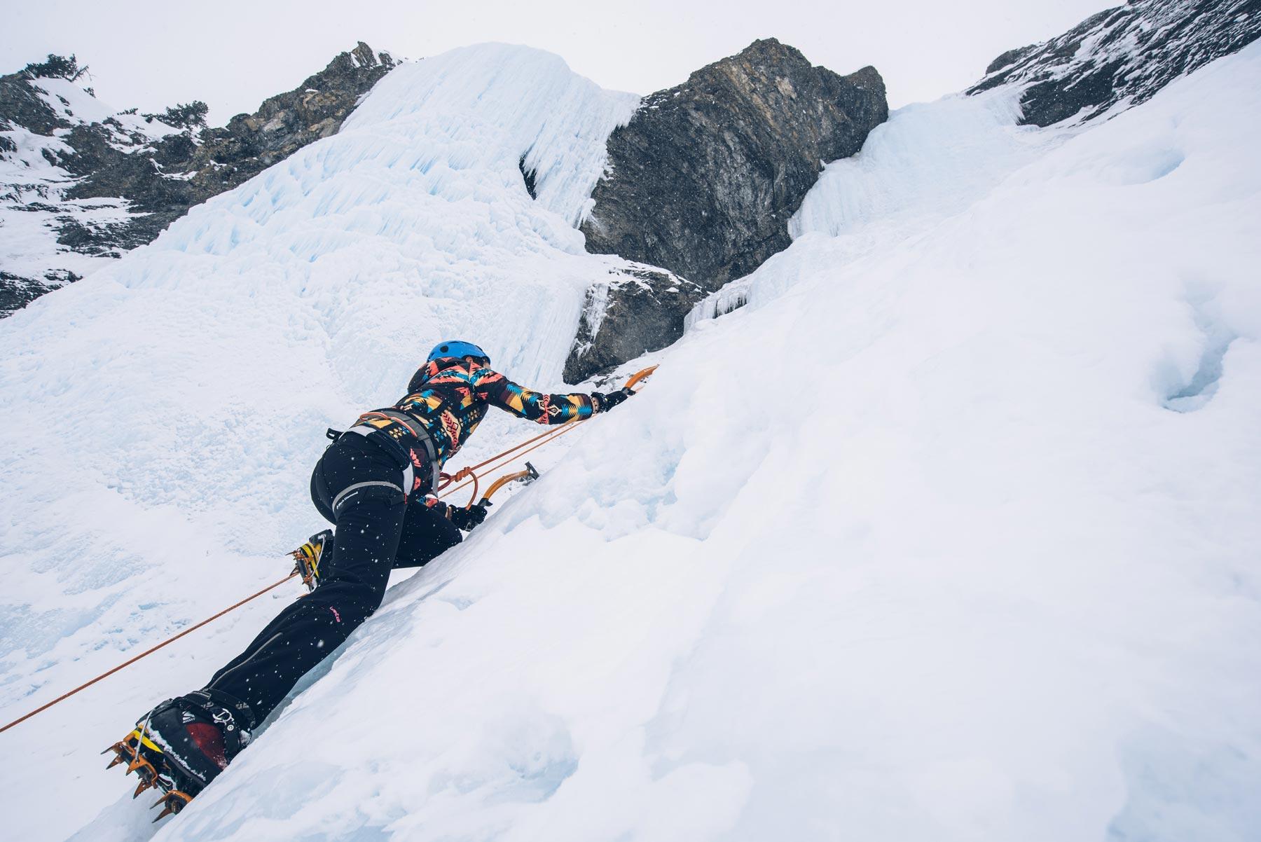 Ice Climbing Davos