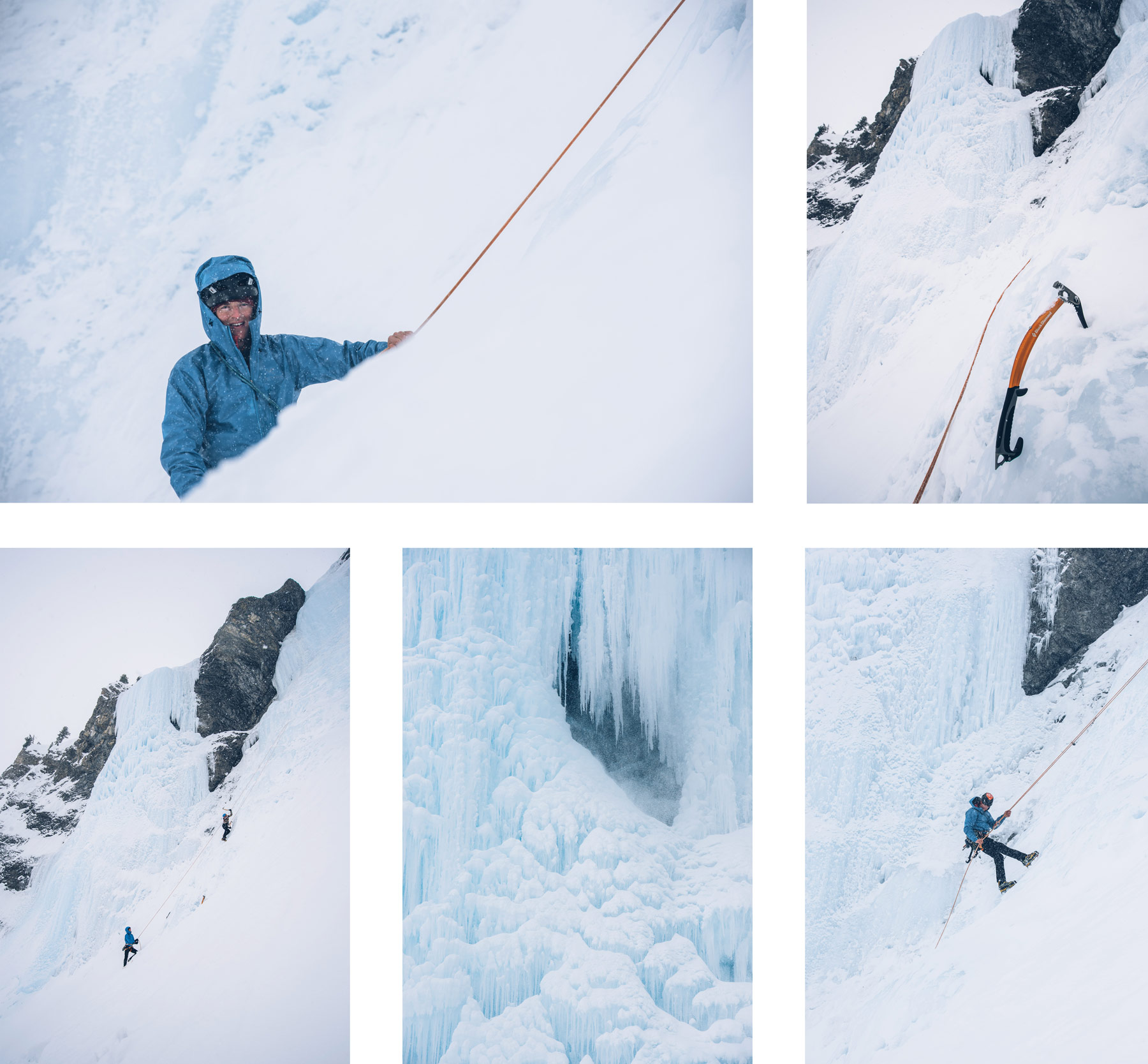 Ice Climbing, Davos, Suisse