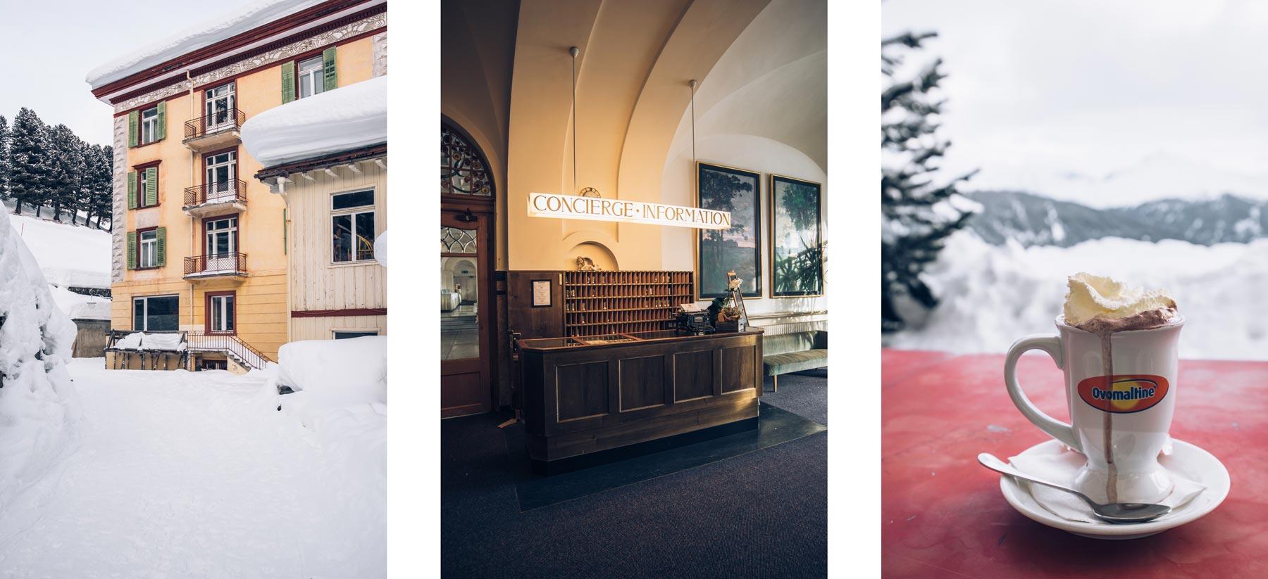 Hotel Schatzalp, Davos