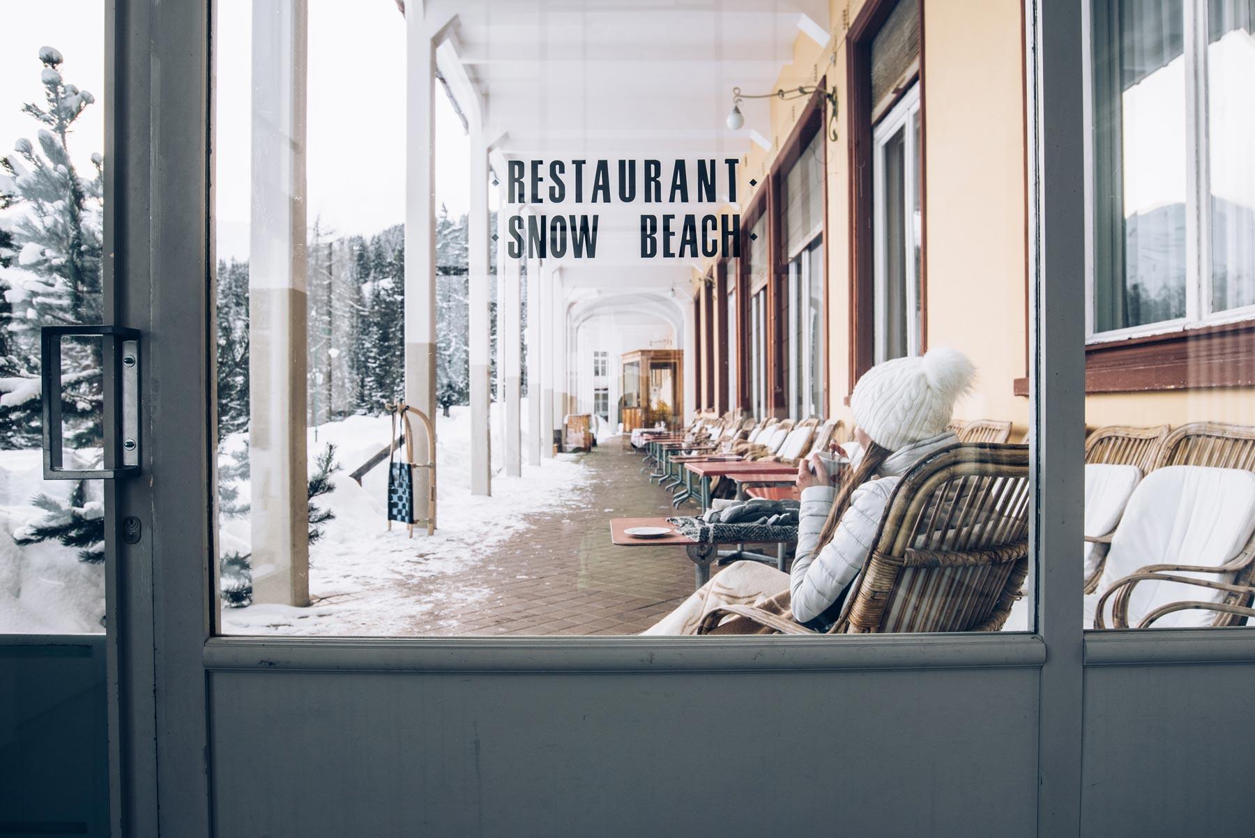 Snow Beach, Davos