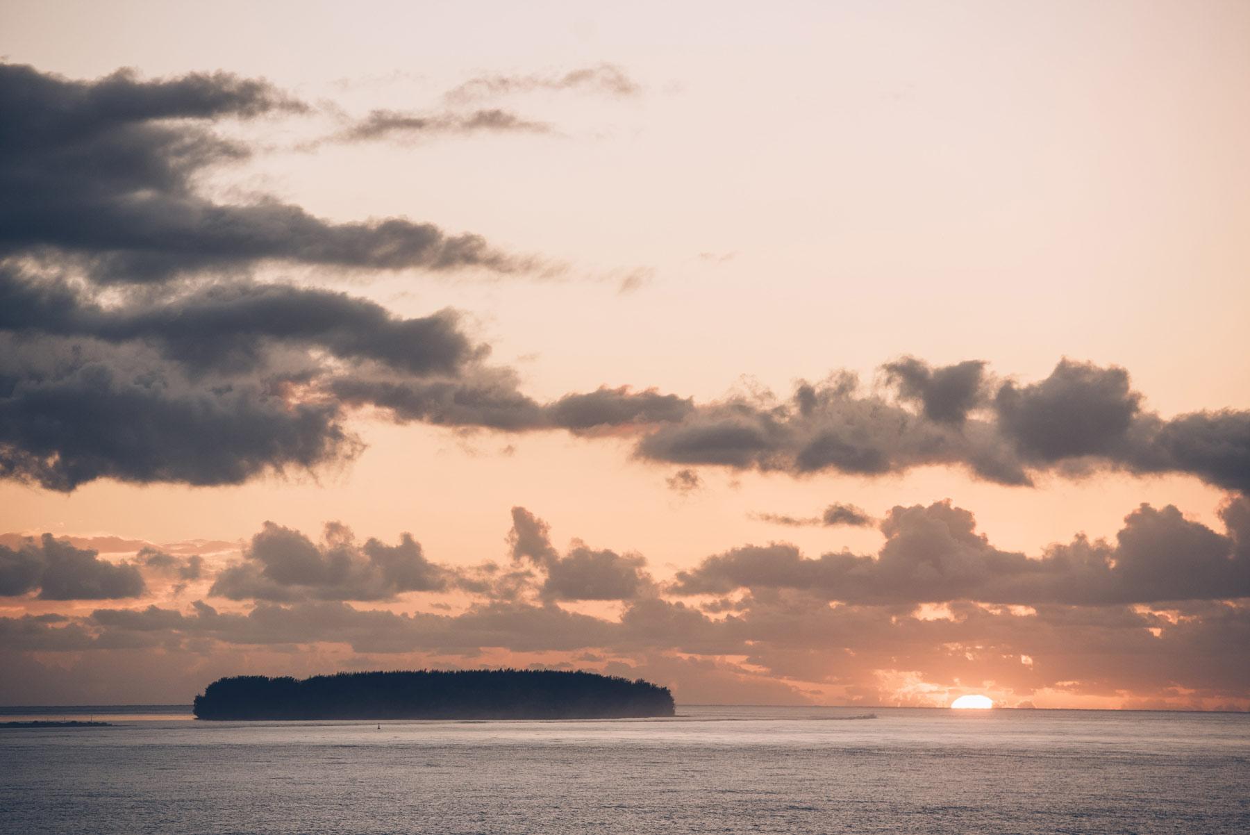 Coucher de Soleil, Tahiti
