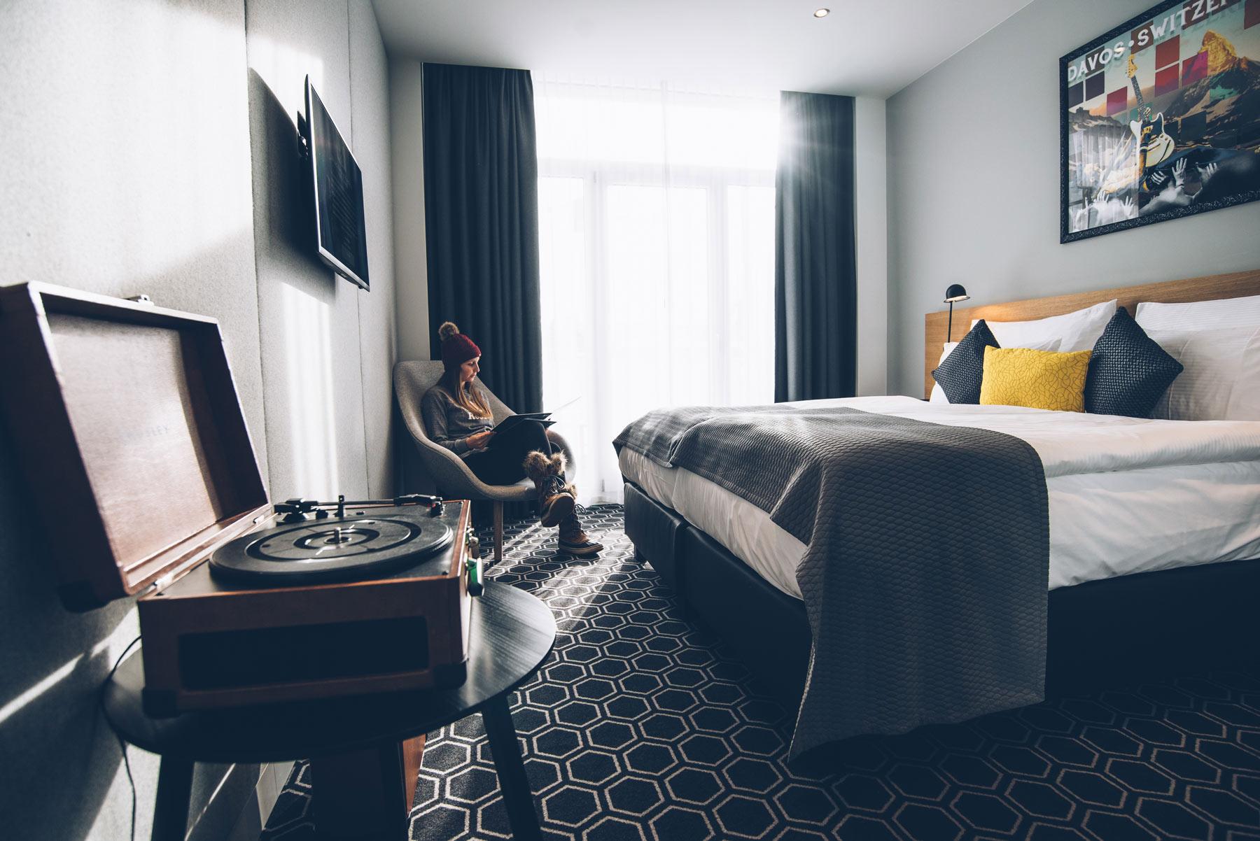 Chambre 413, Hard Rock Hotel Davos