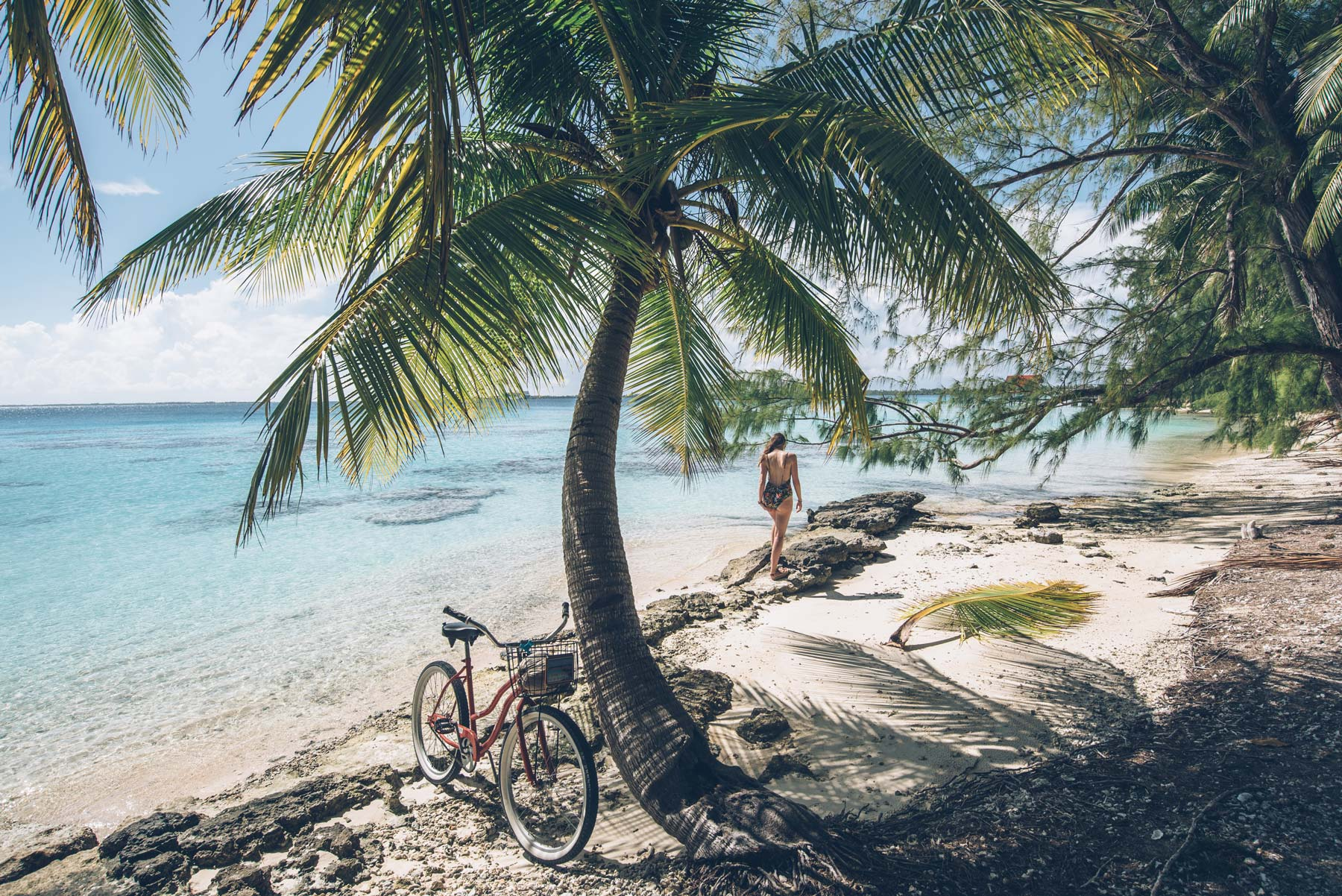 Vélo, Fakarava, Polynésie Française