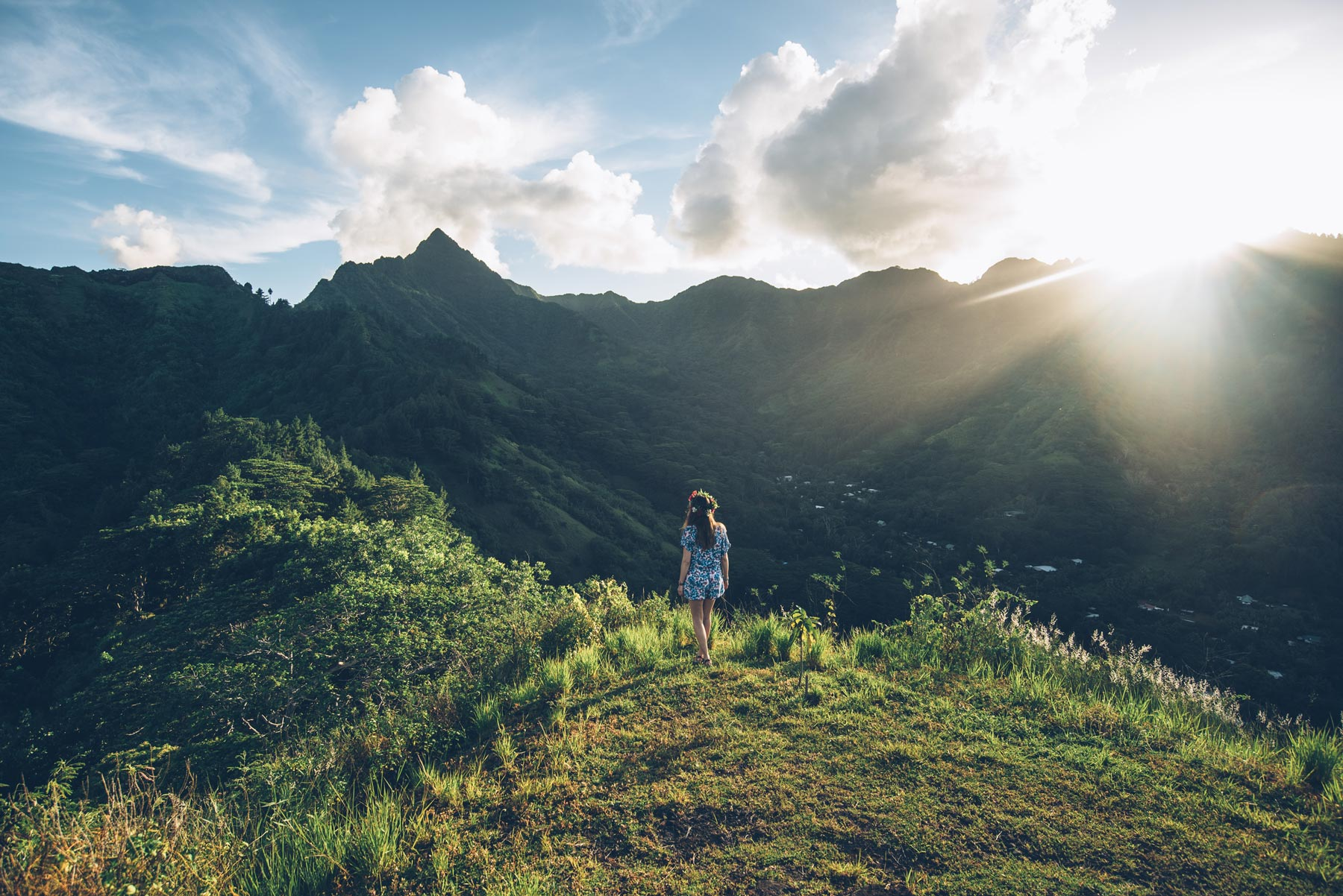 Montagne Magique, Moorea, Polynésie Française
