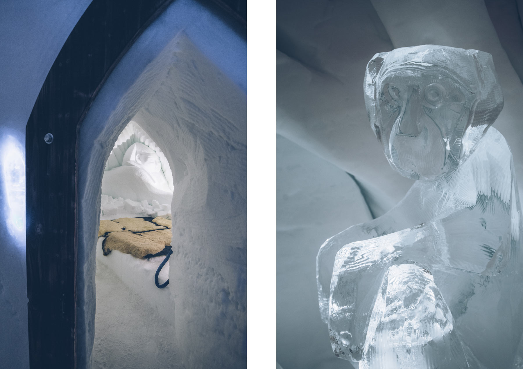 Dormir dans un igloo en Suisse: Davos