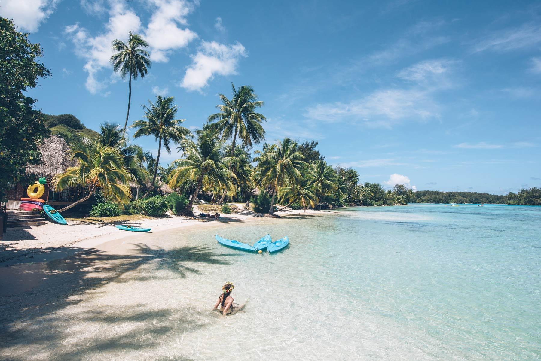 plage du tipanier, Moorea, Polynésie Française