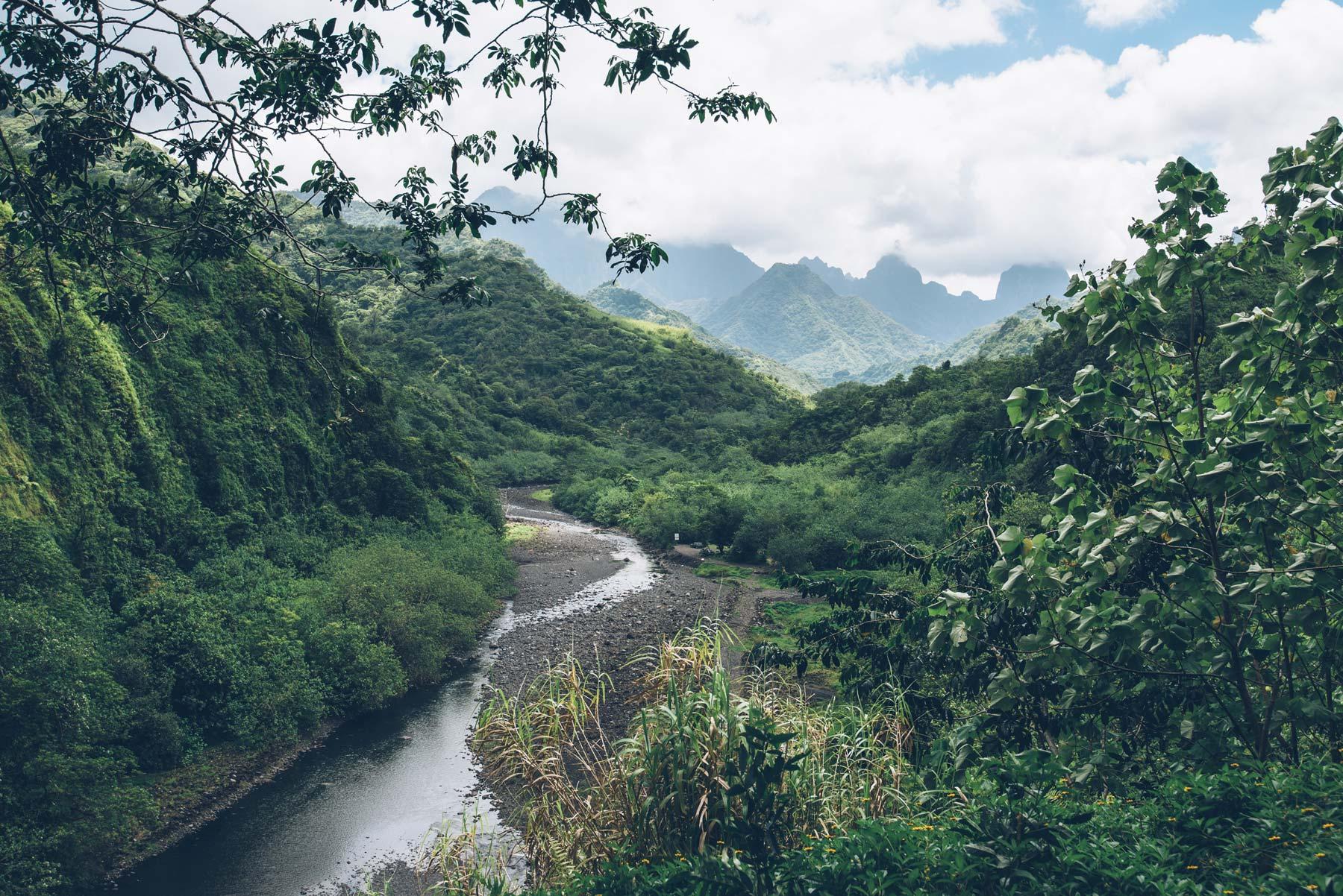 Vallée de Papeeno, Tahiti, Polynésie Française