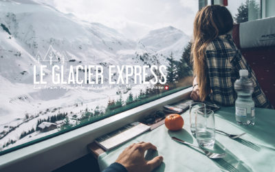 SUISSE | LE TRAIN RAPIDE LE PLUS LENT DU MONDE: LE GLACIER EXPRESS