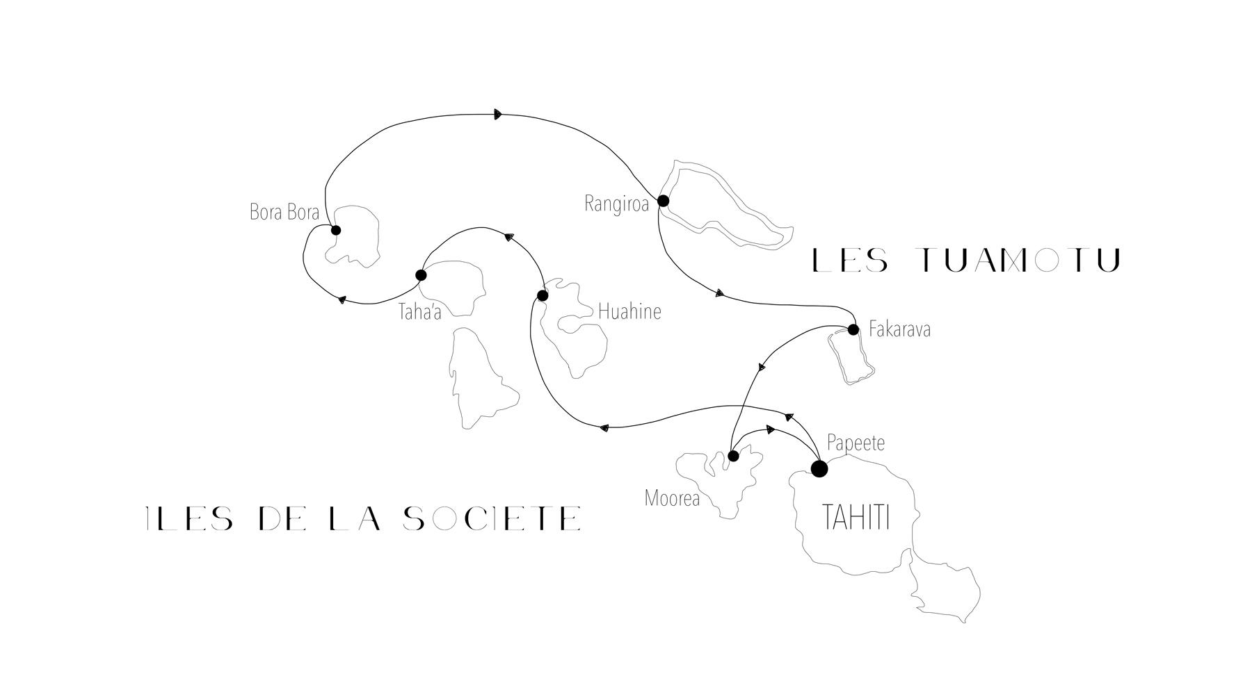 Croisière Tahiti: Les Iles de la Societes et Les Toamutu
