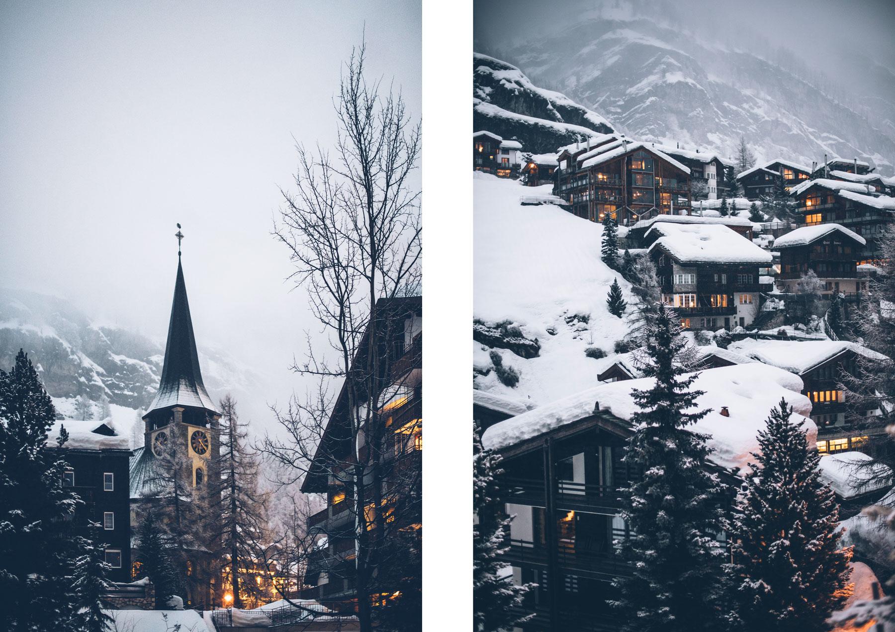 Zermatt, Village Suisse