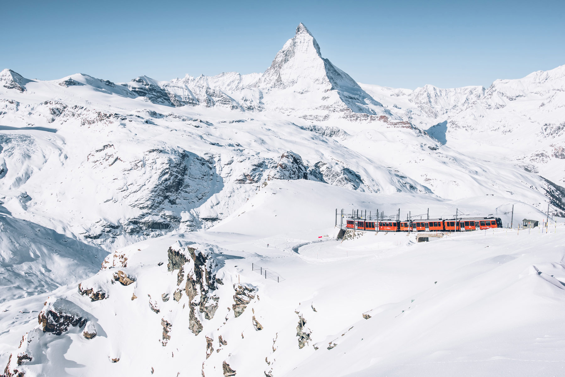 Train du Gornergrat, Zermatt
