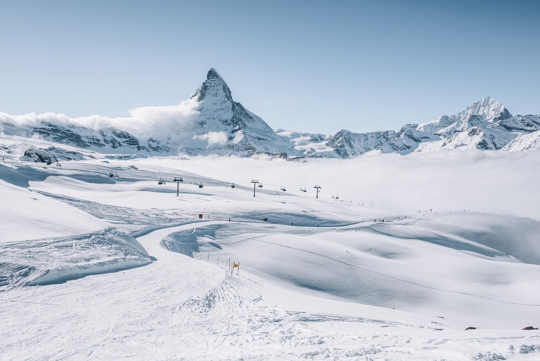 Skier à Zermatt en Suisse, nos Infos pratiques