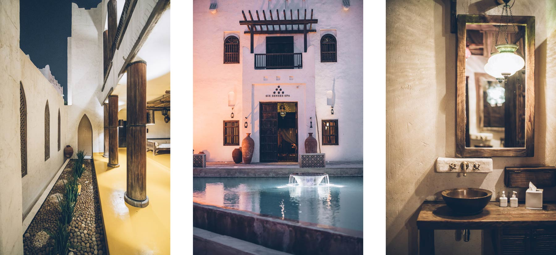 Six Senses: Spa de l'hotel Sharq Village