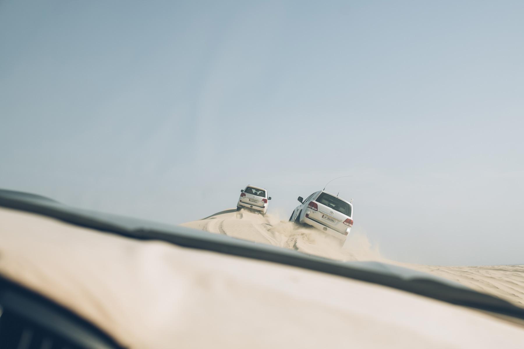 Sortie 4x4 dans le désert du Qatar