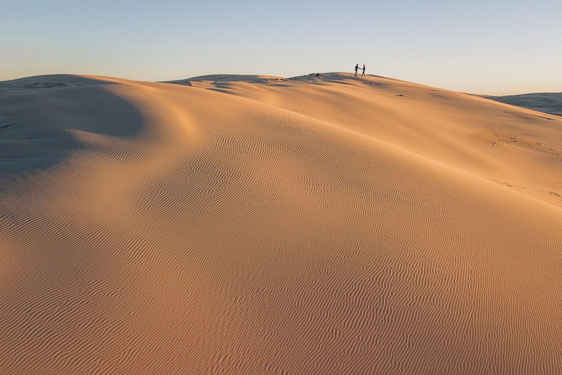 Dunes de sable Australie: Stockton Beach