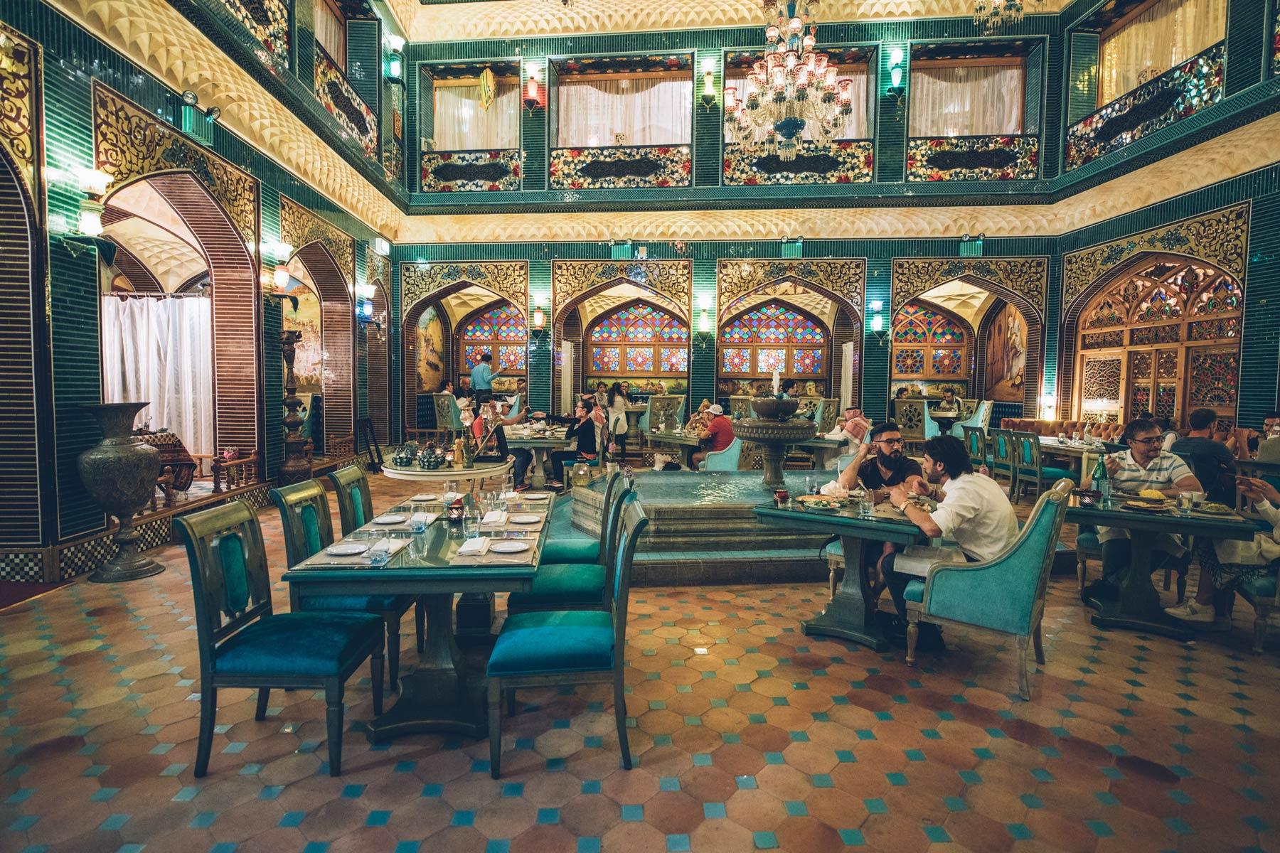 Top Restaurant perse Doha: Al Parisa, souq waqif