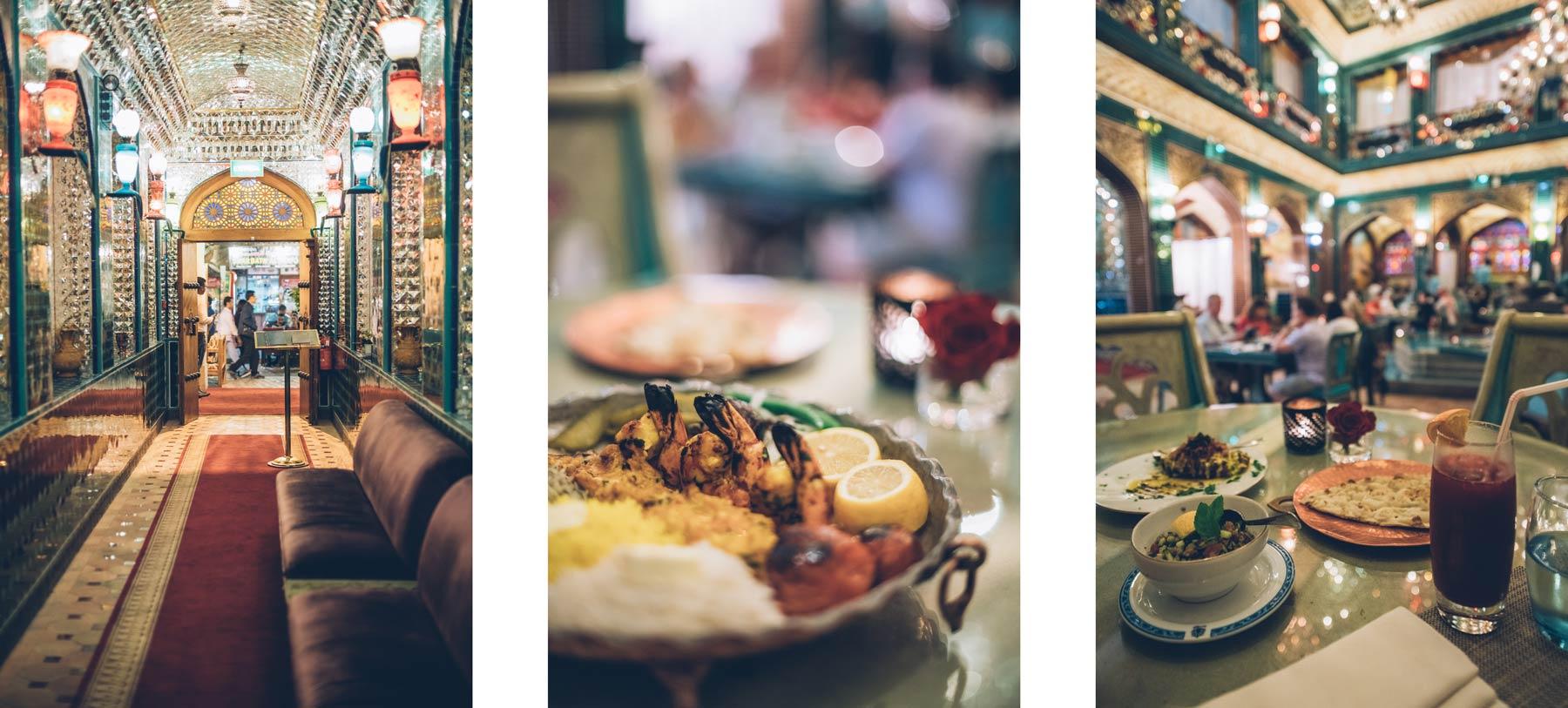 Restaurant perse Al Parisa, Doha, Qatar