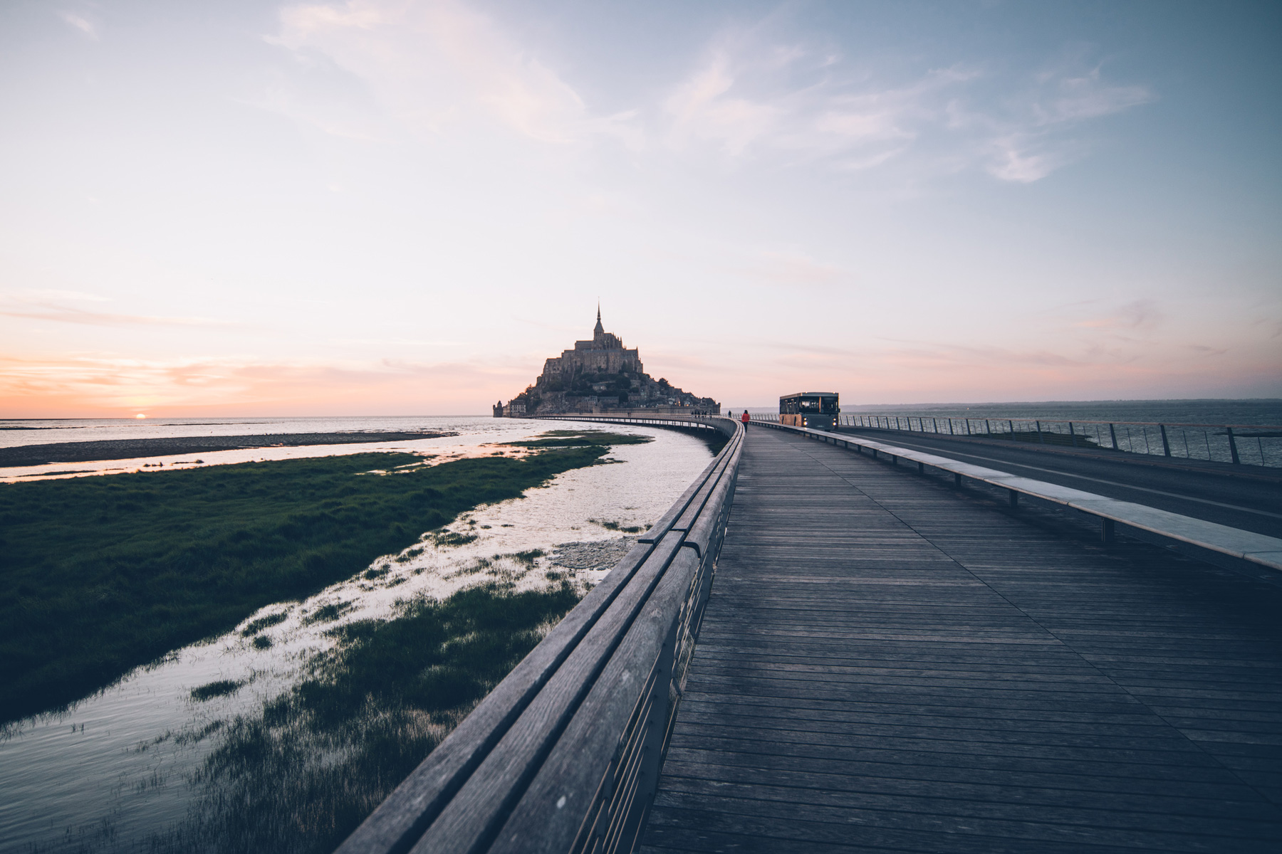 Spot photo Mont Saint Michel: la Passerelle