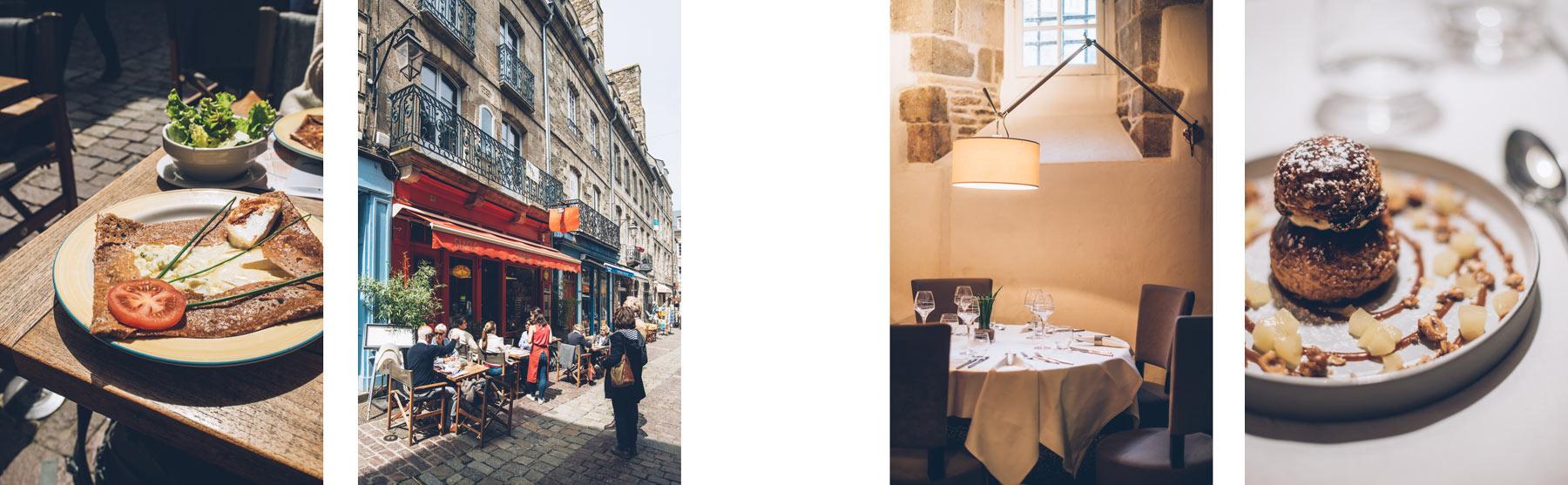 Bons restaurants à Dinan