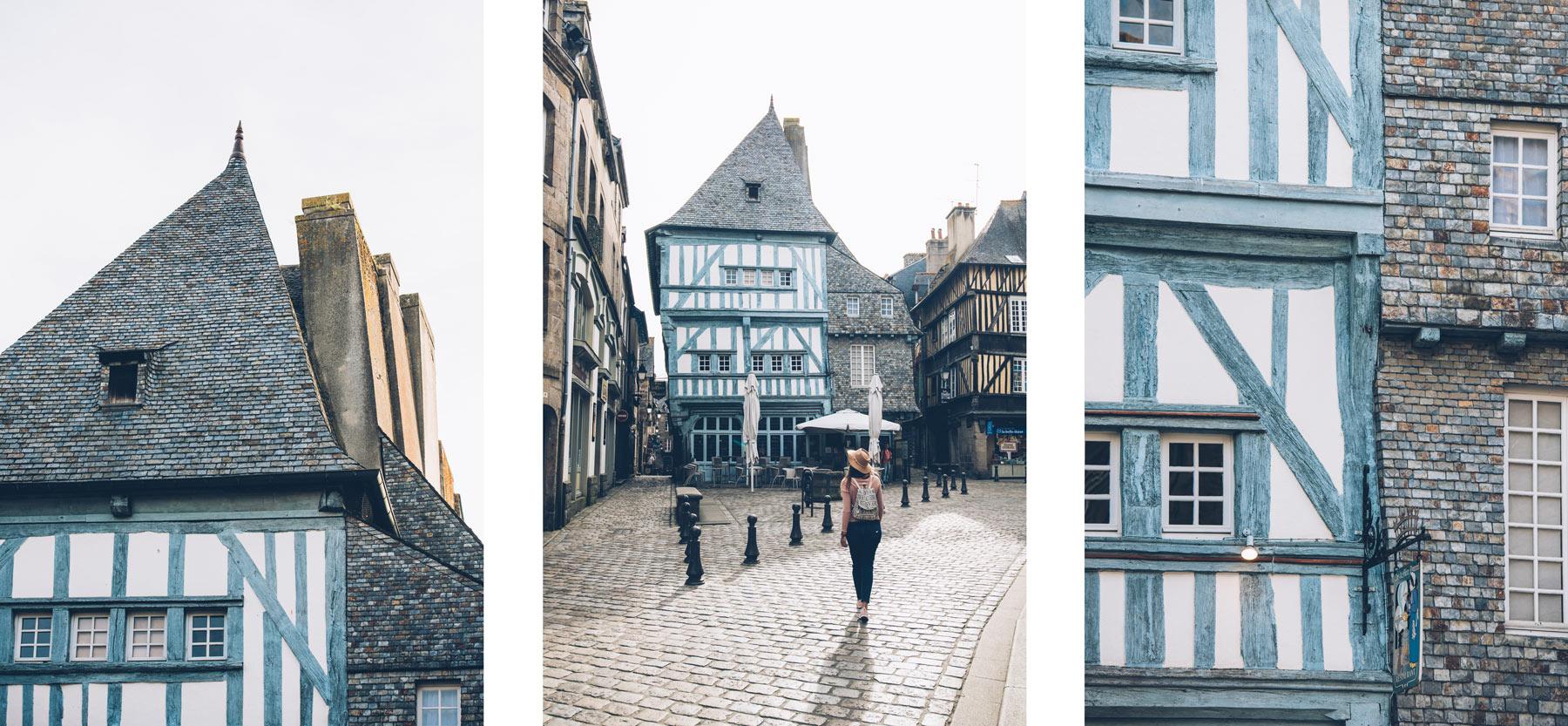 Place des Merciers, Dinan
