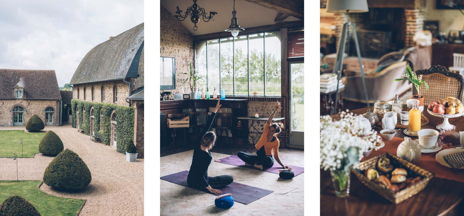 Domaine des Evis, Yoga