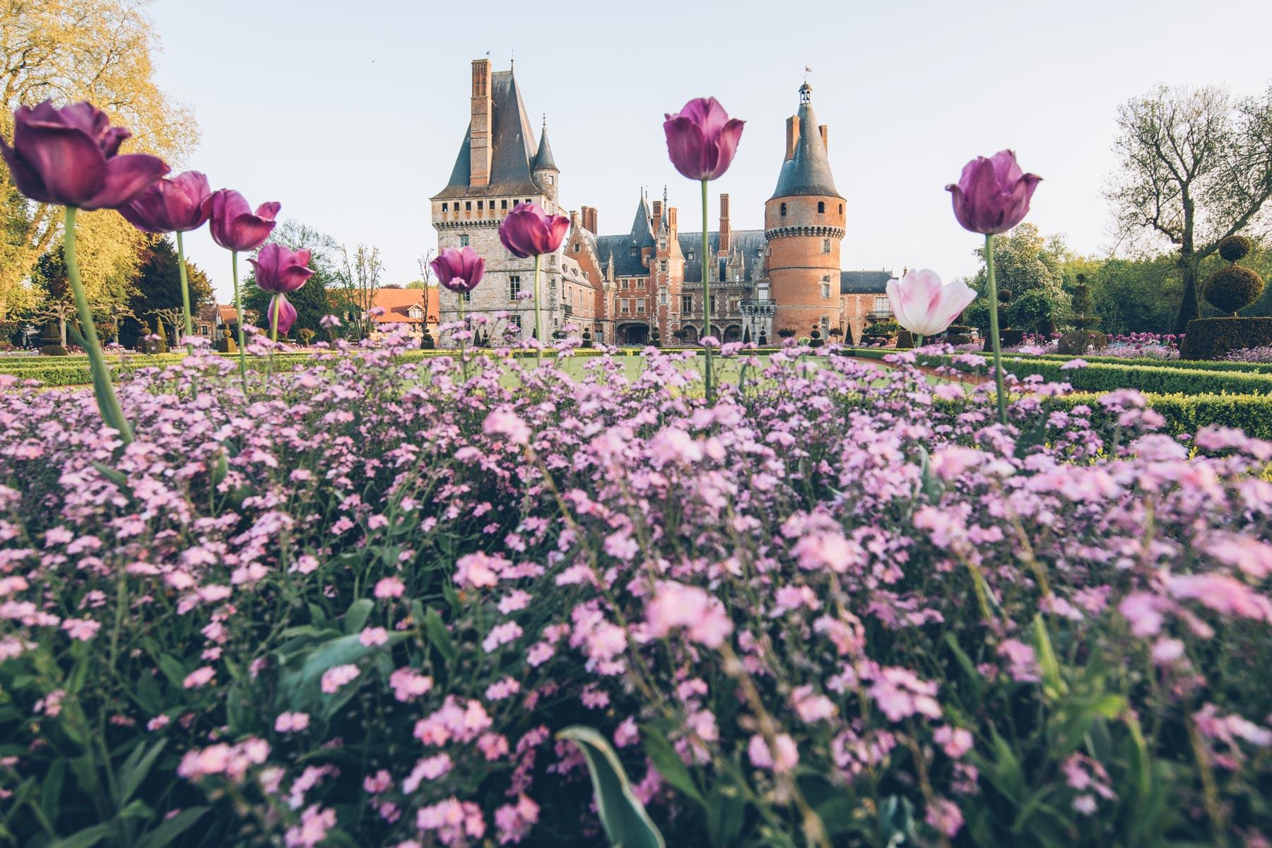 Maintenon, Le plus beau château de France?
