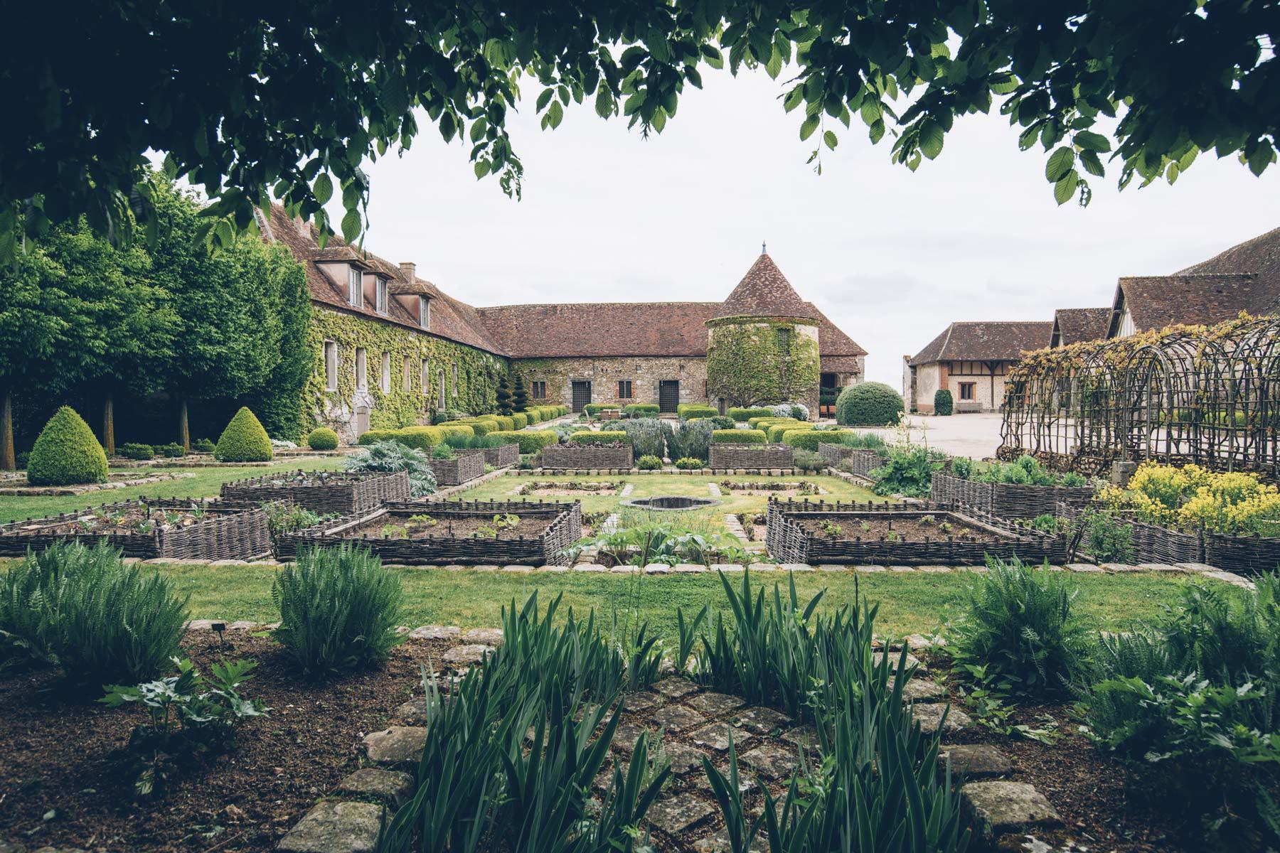 Bois Richeux, Jardins