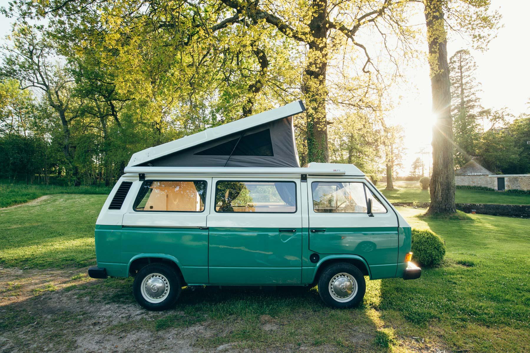 Van Volkswagen T3 Bicolor Vert