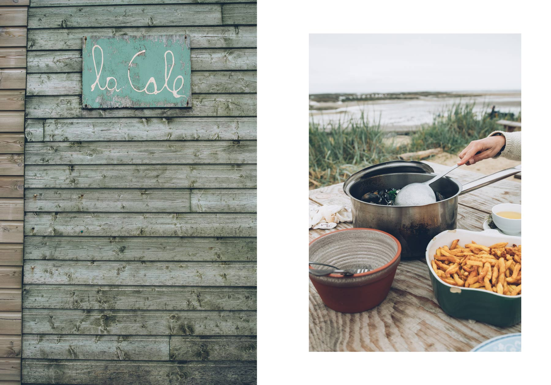 La Cale, Blainville sur Mer