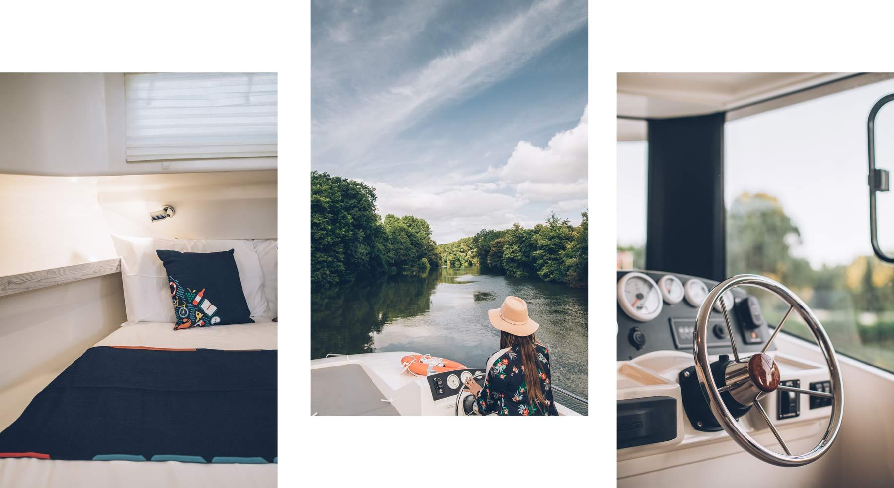 Naviguer sur la Charente avec un bateau sans permis